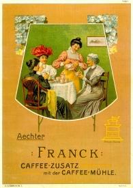 Oglas Franck (Franck d.d.), 1900.